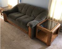 LOVE SEAT & END TABLES -in Albany, OR Lake Oswego