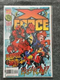 XFORCE #47 featuring Deadpool Calgary, T2A 1W8