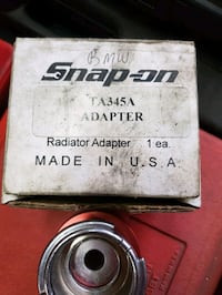 Snap-on BMW cooling system adapter Coatesville, 19320
