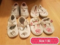 Baby/Toddler girls shoes size 1 Copperas Cove, 76522