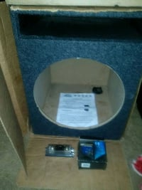"""Ported Carpted  15"""" SUBWOOFER Box Chicago, 60615"""