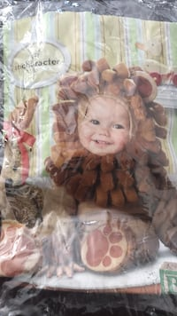 Lil Lion infant costume size 6-12 months New York, 10307