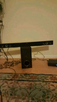 Sound Bar Audio System with Wireless Subwoofer and Gainesville