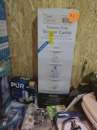 tension pole shower caddy box Indianapolis, 46222