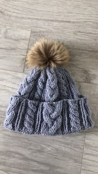 knitted hat with pom pom Toronto, M8Y 4E2