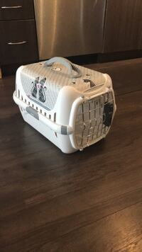 White and gray pet carrier Toronto, M6H 4K5