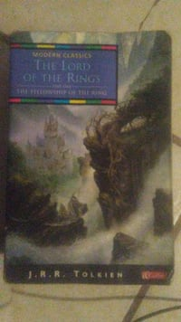 Lord of the rings trilogy by J R R Tolkien Toronto, M2N 1E5
