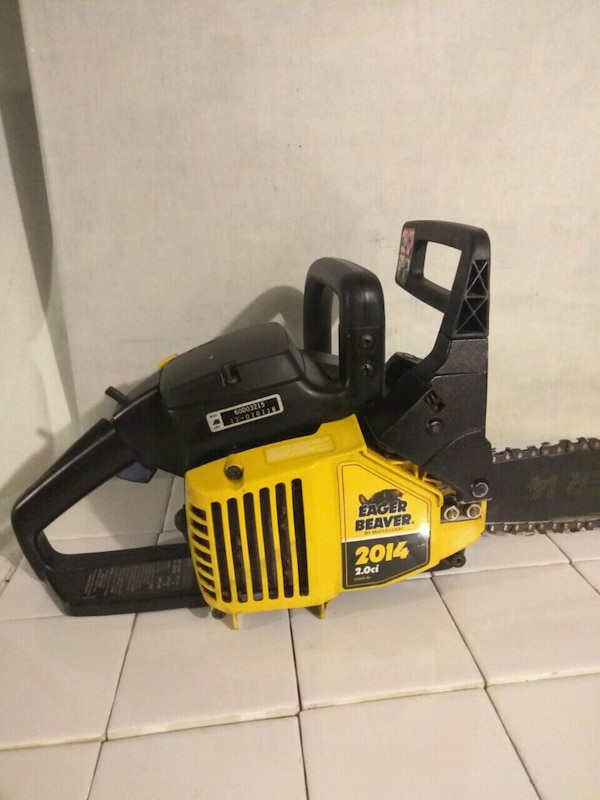 McCULLOCH EAGER BEAVER 2014 2 0 ci Gas CHAINSAW