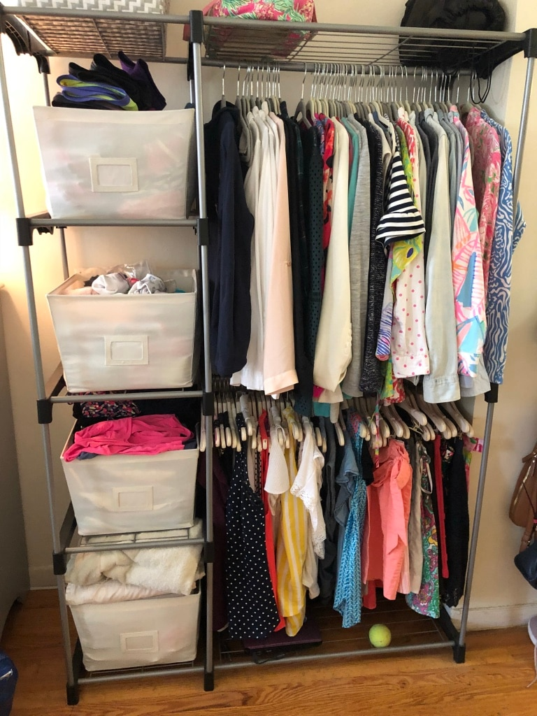 Standing Double Rod Closet