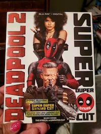 Deadpool 2 blueray dvd combo Akron, 44301