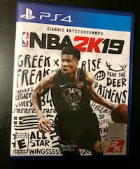 NBA 2k19 PS4 game Essex, 21221