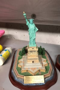 Commemorative Statue of Liberty,Empire State and World Trade Center. Stephens City, 22655