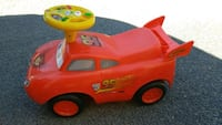 red and yellow Cars Lightning McQueen ride-on toy Austin, 78702