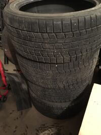 245/40 R18 Dunlop studless winter tires null, T8R 1P2