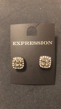 Expression from The Bay Stone earrings- Final Listing Mississauga, L4Z 1H7