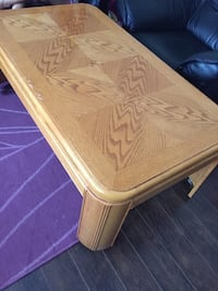 Large wood table Innisfil, L9S 2K7