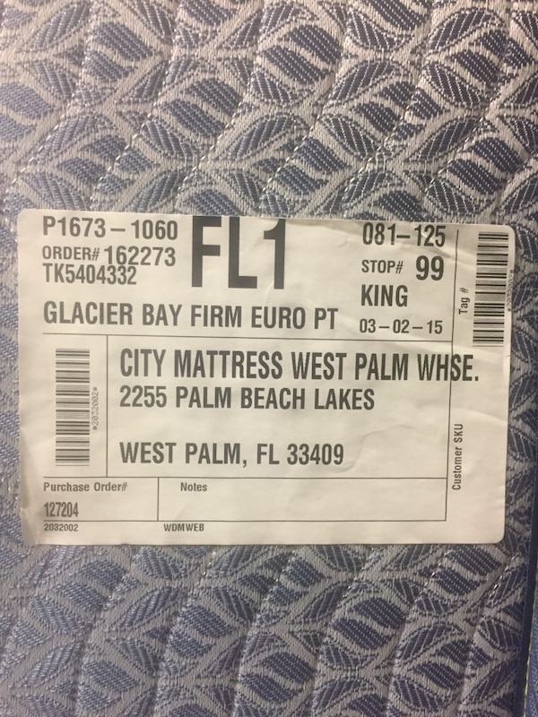 Used Reduced 40 To Sell Asap Never Used City Mattress King Glacier