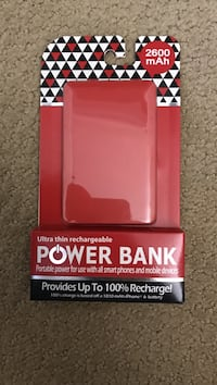 red power bank pack