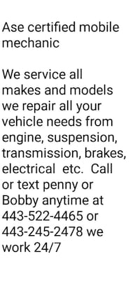 Auto repair Glen Burnie