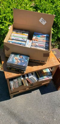 assorted DVD movie case lot Riverdale Park, 20737