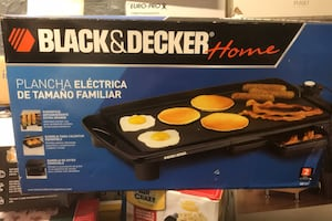 Black and decker large family griddle