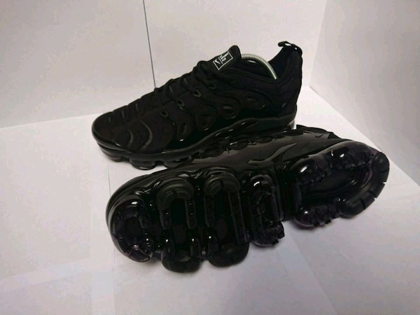 aaa7669bcc1 Used Nike Vapormax plus triple black size 10 for sale in Bradford - letgo