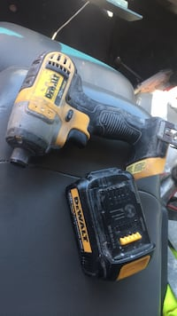 Black and yellow dewalt cordless power drill Hackettstown, 07840