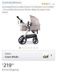 Cynebaby Khaki Stroller for sale! BRAND NEW, NEVER BEEN USED. Silver Spring, 20904