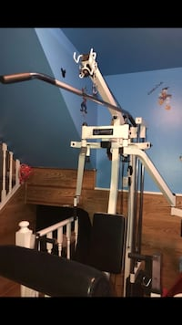 white lat pull-down machine Arvada, 80003