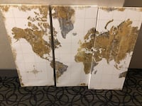 World map  Toronto