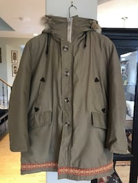 Men's parks winter jacket size large