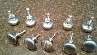 Cabinet knobs (10 @ $2.50 each).