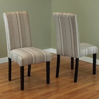 MONSOON PACIFIC FABRIC DINING CHAIR 2