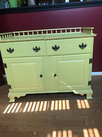 Vintage Dry Sink Painted Yellow Dumfries, 22026