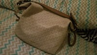 brown and black leather handbag Sterling Heights, 48311