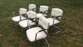 6 Steelcase cantilever chairs $50 each