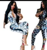 ladies Gucci outfit one piece comes in two colors Chicago
