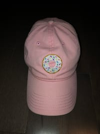 white and pink fitted cap Mississauga, L5N 2Y4
