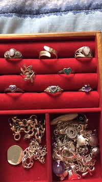 Assorted silver rings (size 5-7) Arlington, 22201