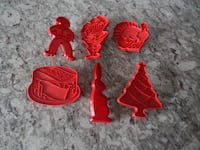 Tupperware Holiday Cookie Cutters  Morinville