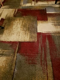 8x10 Almost new modern abstract rug Gulf Shores, 36542