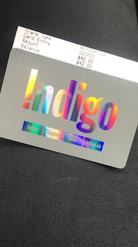 Indigo chapters gift card Toronto, M9P