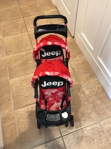 DOLL!! double Jeep Stroller