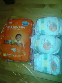 Diapers 40 size 1&19 size 2 New Bedford, 02745