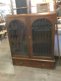 Gorgeous Leaded Glass Cabinet  London, N5X 2J1