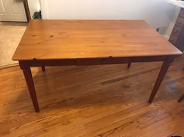 Sturdy kitchen table