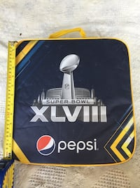 Super Bowl XLVIII Game Issued Seat Cushion