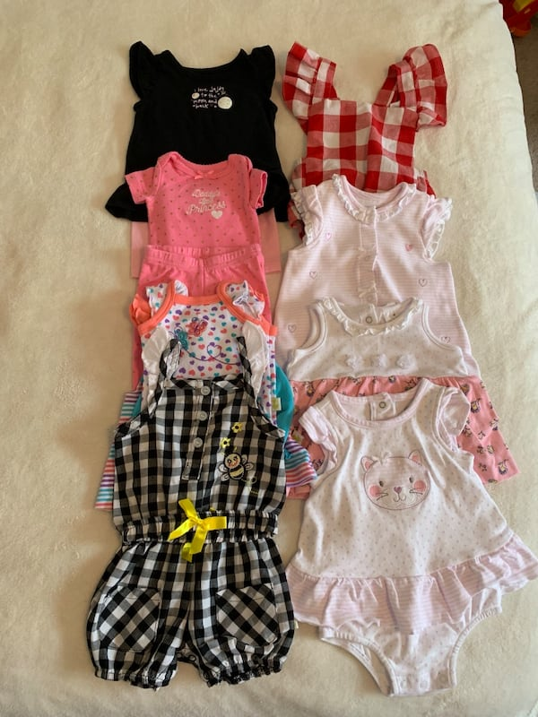 0-3 month girl clothing lot aa1d6499-d883-4ae2-a486-8a9973f11c7b