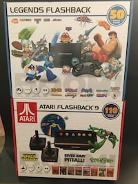 New Atari Flashback 9 or Legends console with built in games ready!!!