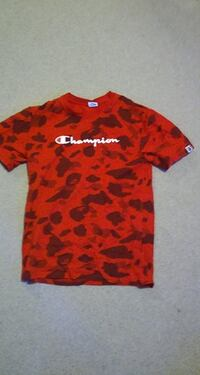 medium bape x champion shirt